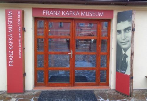 Kafka Museum Prag Eingang