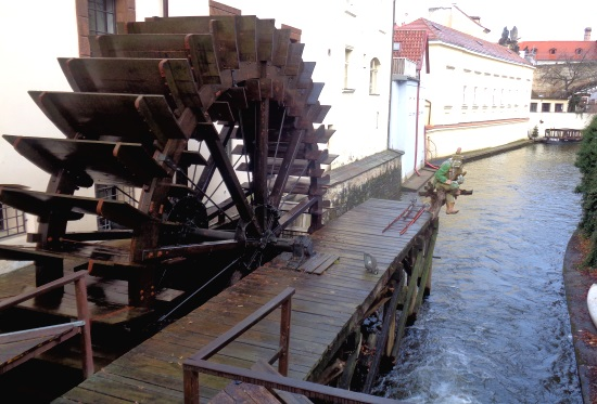 Mühle Insel Kampa Prag